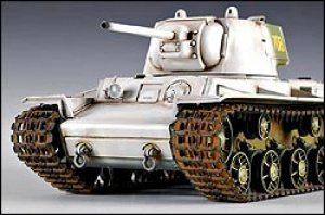KV1 (Model 1942) Heavy Cast Turret Tank  (Vista 4)