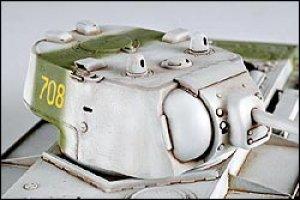 KV1 (Model 1942) Heavy Cast Turret Tank  (Vista 6)