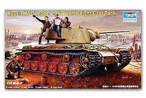 Russia KV-1 model 1942 Lightweight Cast - Ref.: TRUM-00360