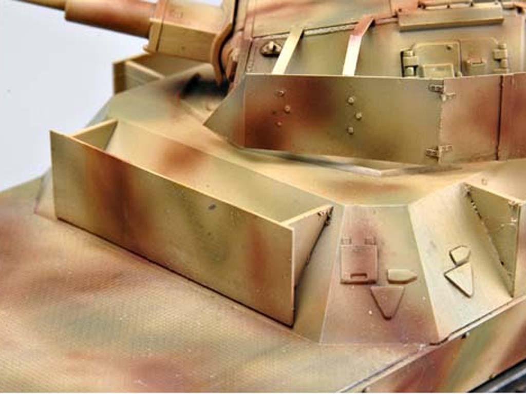 Vagón blindado alemán con torreta Panz  (Vista 3)