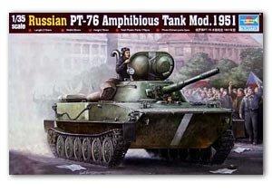 Russian PT-76 amphibious Tank Mod.1951 - Ref.: TRUM-00379