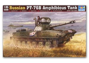 Russian PT-76B Light Amphibious Tank - Ref.: TRUM-00381
