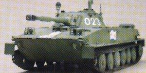 Russian PT-76B Light Amphibious Tank  (Vista 6)
