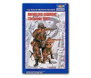Motorized Regiment  Belgrade 1941  (Vista 1)