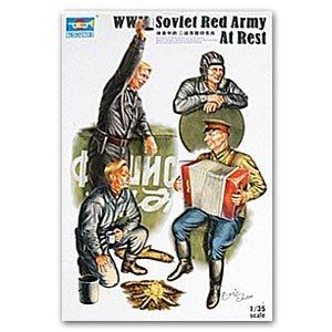 Tanquistas Sovieticos descansando  (Vista 1)