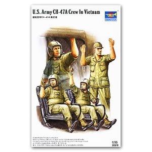 US Army CH-47 Crew in Vietnam - Ref.: TRUM-00417