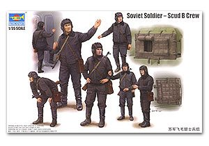 Soviet Army Scud B Military Personnel Se  (Vista 1)