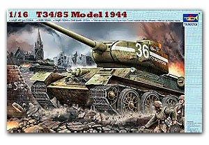 T-34/85 Model 1944 Factory No. 183 - Ref.: TRUM-00902