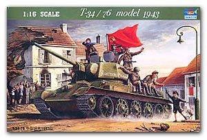 T-34/76 Model 1943 - Ref.: TRUM-00903