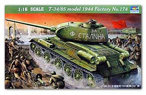 T-34/85 Model 1944 Factory No. 174 - Ref.: TRUM-00904
