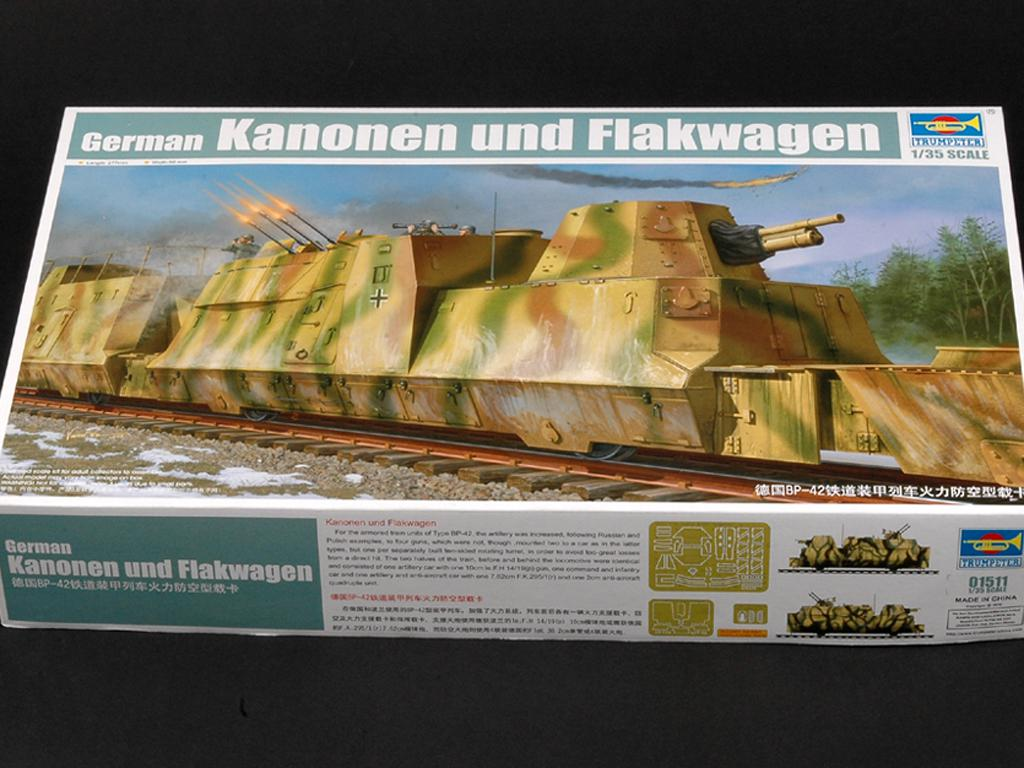 Vagón blindado para tren BP44 - Ref.: TRUM-01511