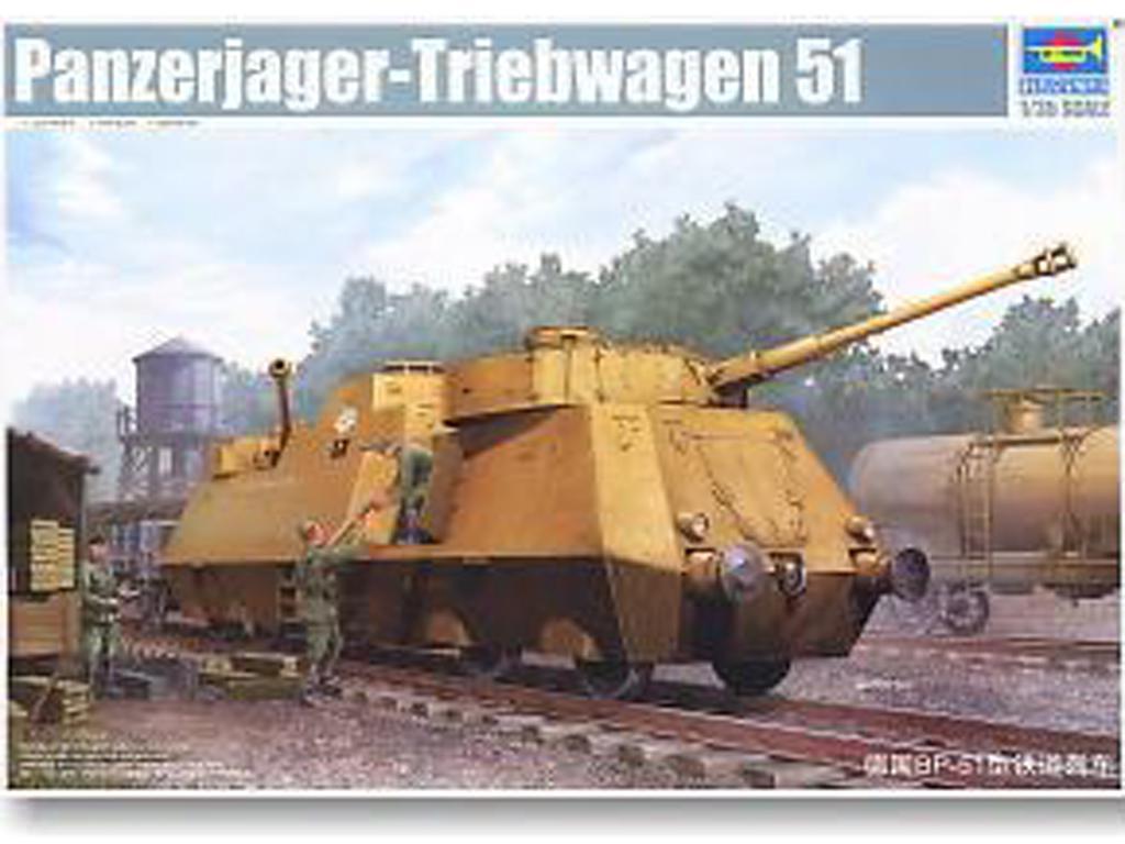 Panzerjager-Triebwagen 51  (Vista 1)