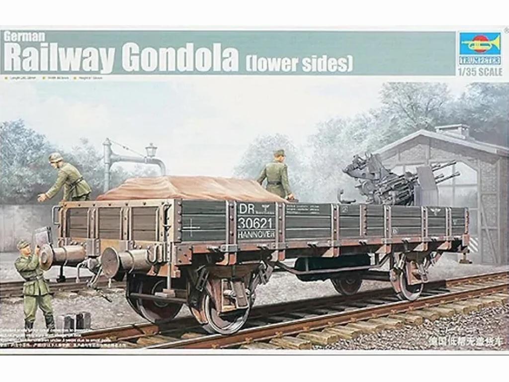 German Railway Gondola - Ref.: TRUM-01518