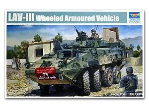 LAV-III 8x8 wheeled armoured vehicle - Ref.: TRUM-01519