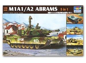 M1A1/A2 Abrams 5in 1 - Ref.: TRUM-01535