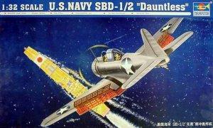 "U.S.NAVY SBD-1/2 ""Dauntless"" - Ref.: TRUM-02241"