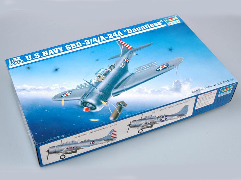 SBD-3/4/A-24A Dauntless Aircraft - Ref.: TRUM-02242