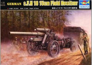 German 15cm s.FH 18 Field Howitzer - Ref.: TRUM-02304