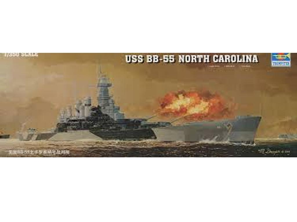 USS BB-55 North Carolina