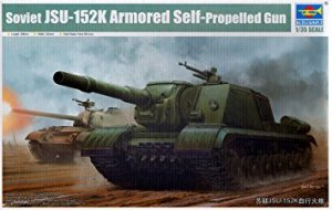 Soviet JSU-152K Armored Self-Propelled G - Ref.: TRUM-05591