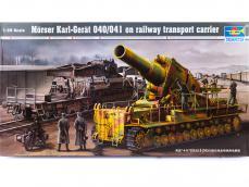 Morser-Karl con vagones de transporte - Ref.: TRUM-00209