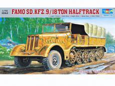 Famo Sd.Kfz.9/18 ton halftrack - Ref.: TRUM-07203