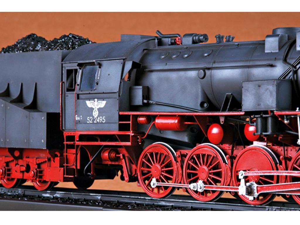 Locomotora Armada Alemana Vapor BR52 (Vista 10)