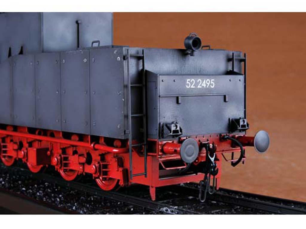 Locomotora Armada Alemana Vapor BR52 (Vista 13)