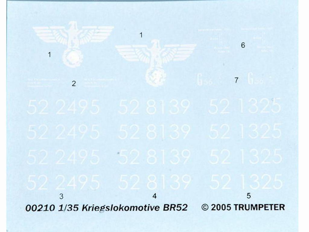 Locomotora Armada Alemana Vapor BR52 (Vista 3)