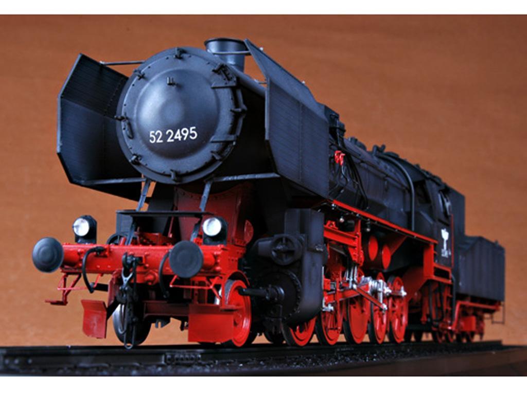 Locomotora Armada Alemana Vapor BR52 (Vista 5)
