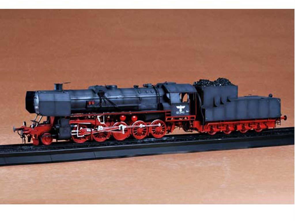 Locomotora Armada Alemana Vapor BR52 (Vista 7)