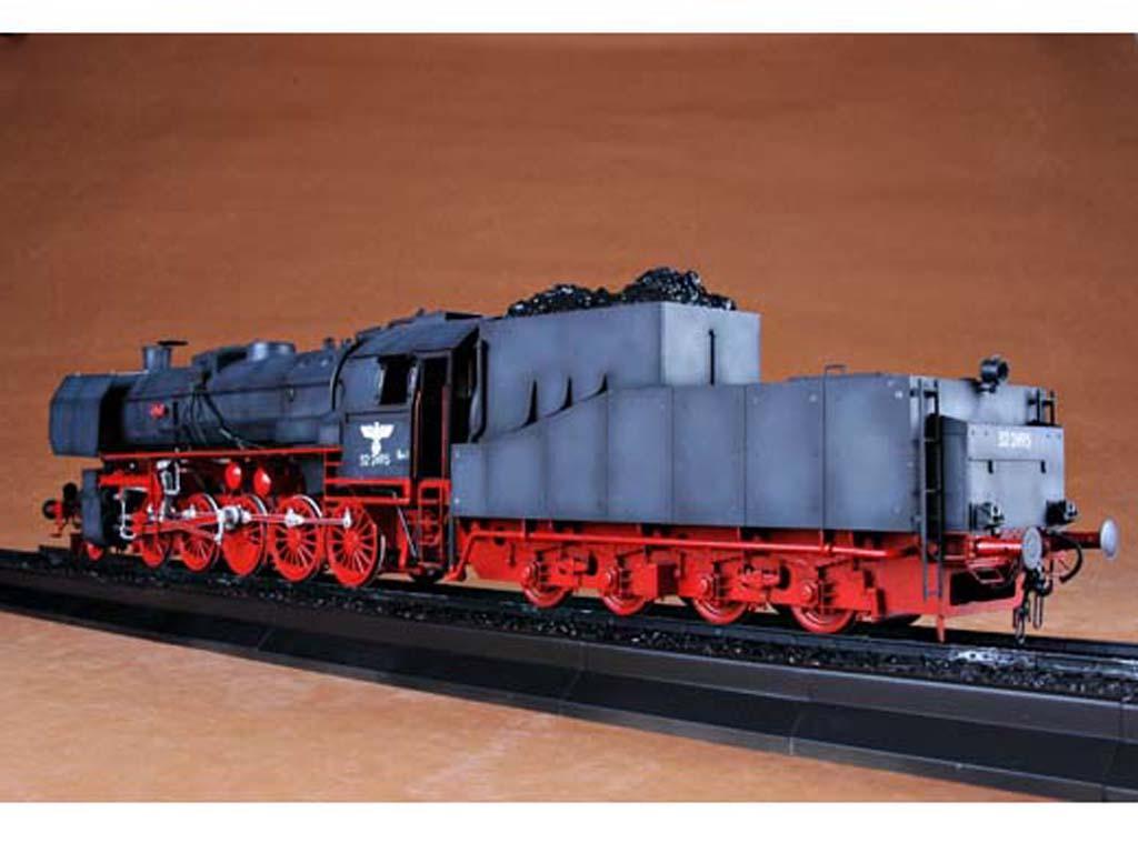 Locomotora Armada Alemana Vapor BR52 (Vista 8)