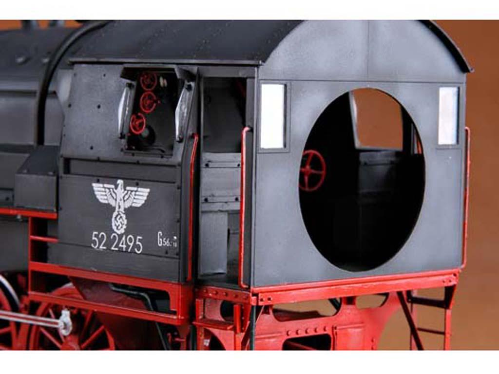 Locomotora Armada Alemana Vapor BR52 (Vista 9)