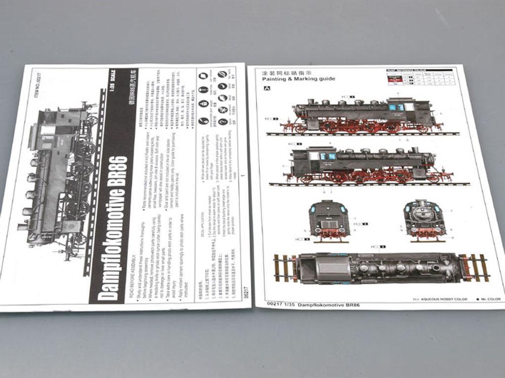 Locomotora Alemana BR86 2ªG.M. (Vista 2)