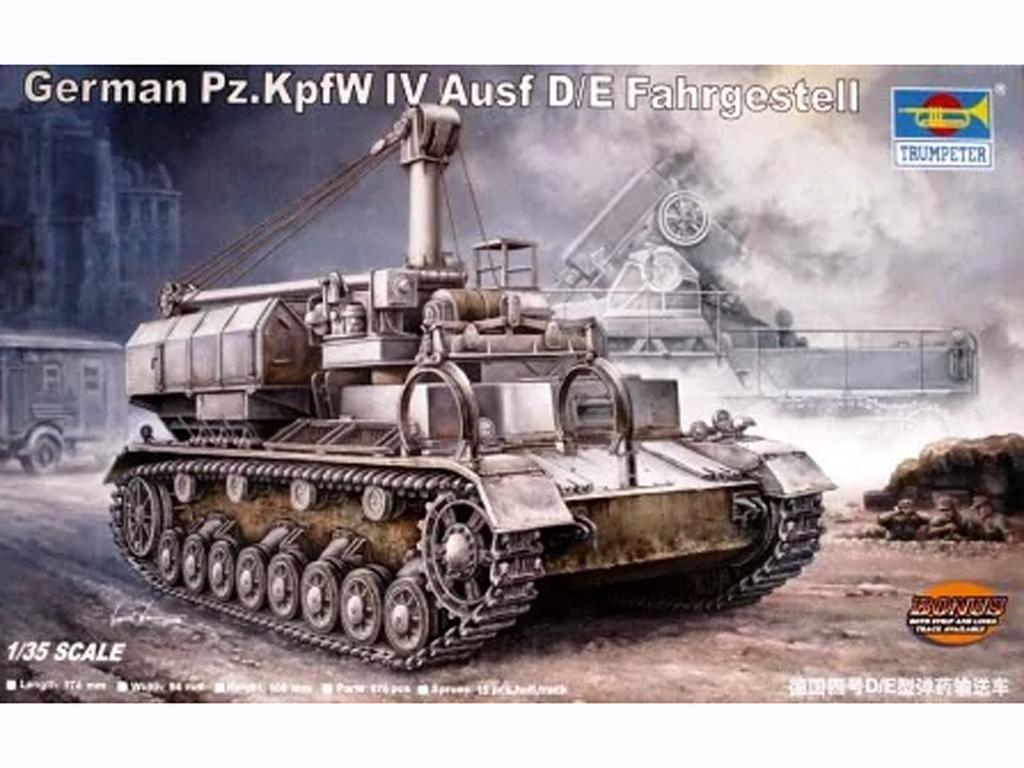 German Pz.Kw IV Ausf D/E Fahrgestell (Vista 1)