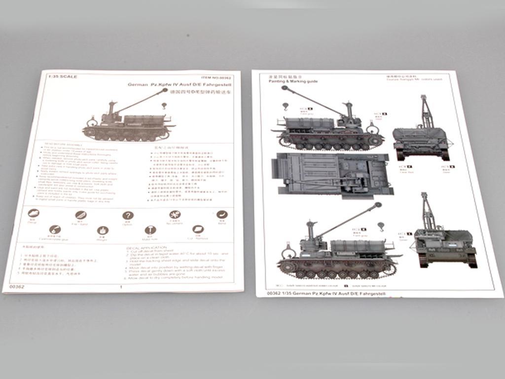 German Pz.Kw IV Ausf D/E Fahrgestell (Vista 2)