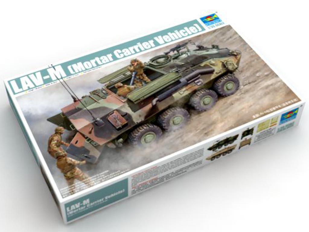 LAV-M (Mortar Carrier Vehicle)  (Vista 1)