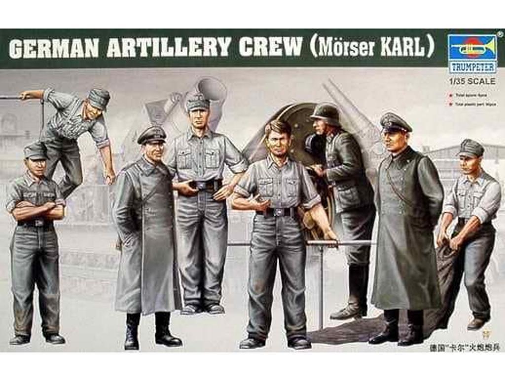 Servidores del cañon Aleman  Karl (Vista 1)