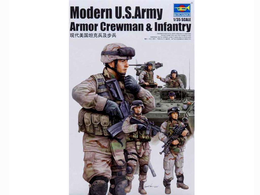 Tanquistas y Infanteria Moderna U.S. (Vista 1)