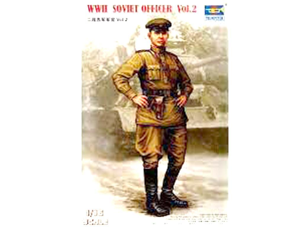 Oficial ruso 2ª G.M. Vol.2  (Vista 1)