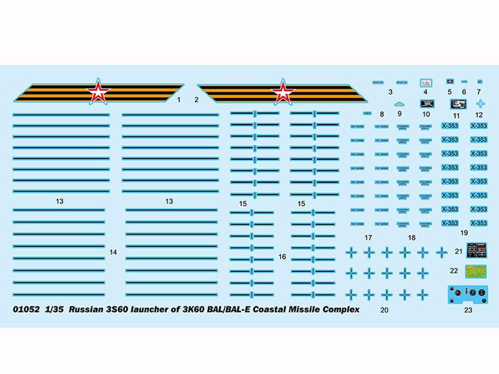 Russian 3S60 launcher of 3K60 BAL/BAL-Elex Coastal Missile Complex (Vista 3)