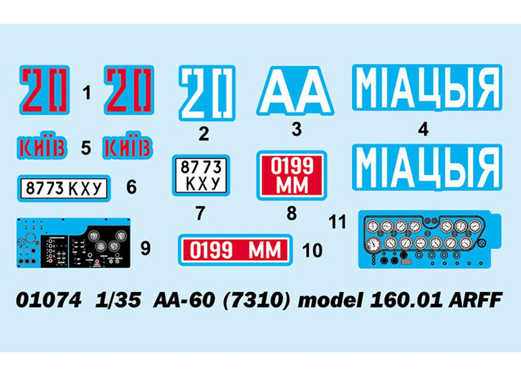 AA-60 (7310) model 160.01 ARFF  (Vista 3)