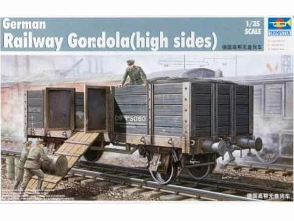 Góndola Ferroviaria Alemana (Vista 1)