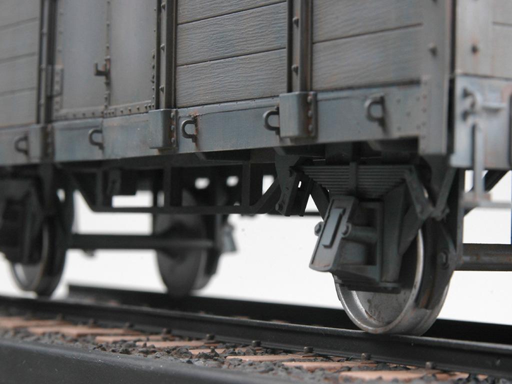 Góndola Ferroviaria Alemana (Vista 2)