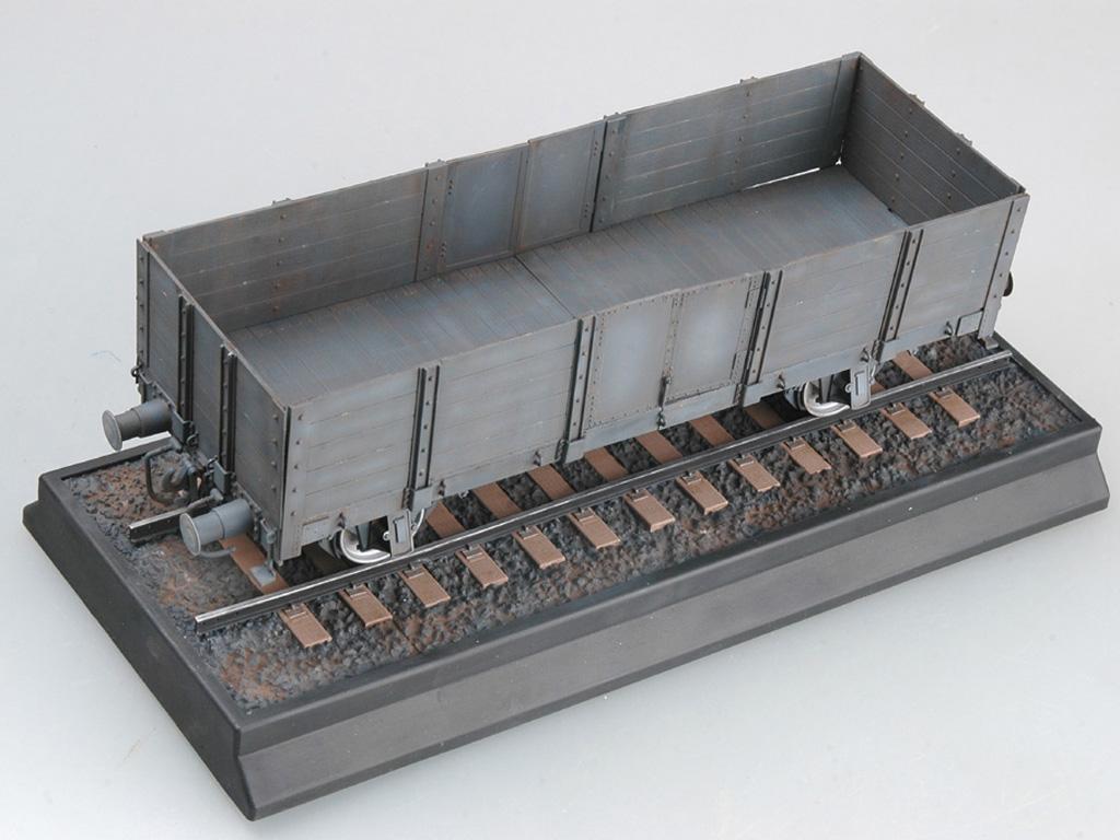 Góndola Ferroviaria Alemana (Vista 3)