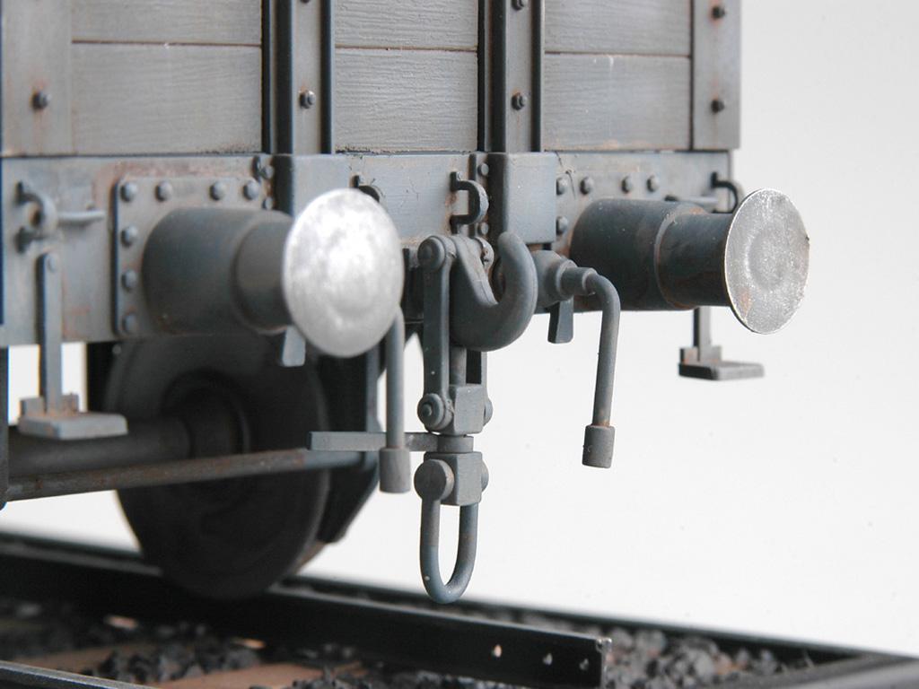 Góndola Ferroviaria Alemana (Vista 5)