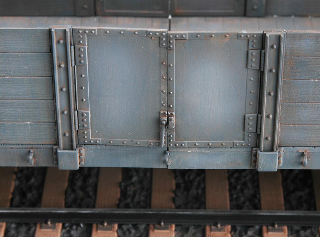 Góndola Ferroviaria Alemana (Vista 7)