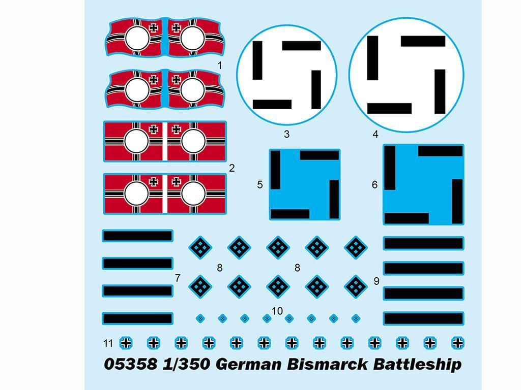 Acorazado Alemán Bismarck (Vista 3)