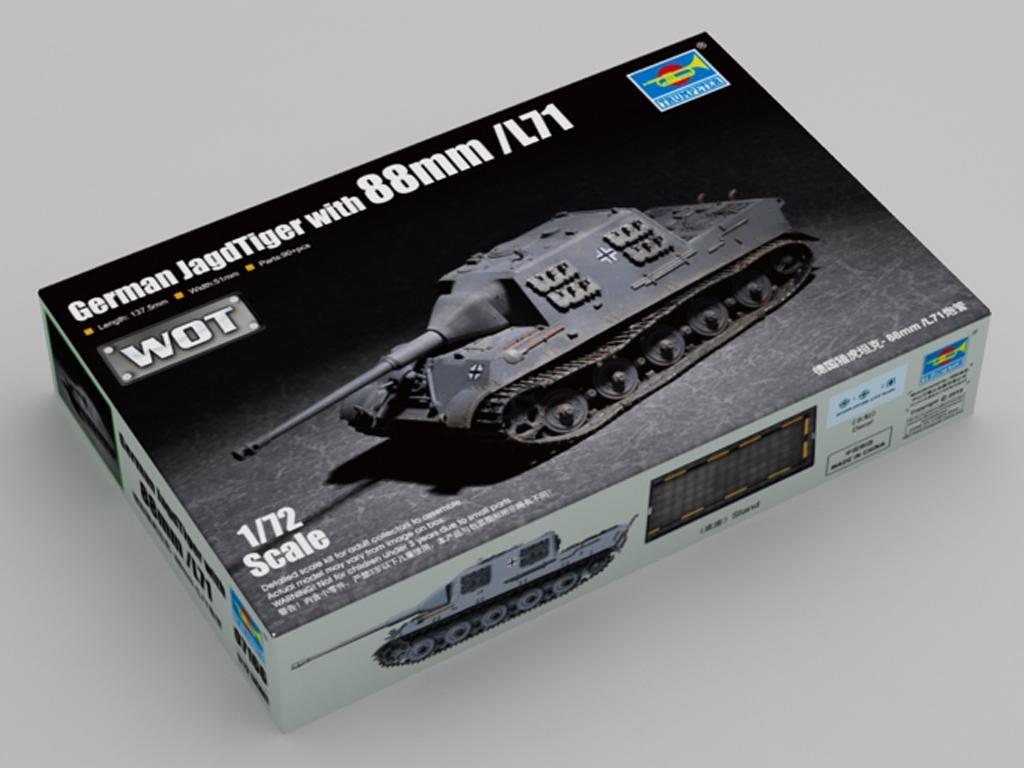 German JagdTiger with 88mm /L71  (Vista 1)