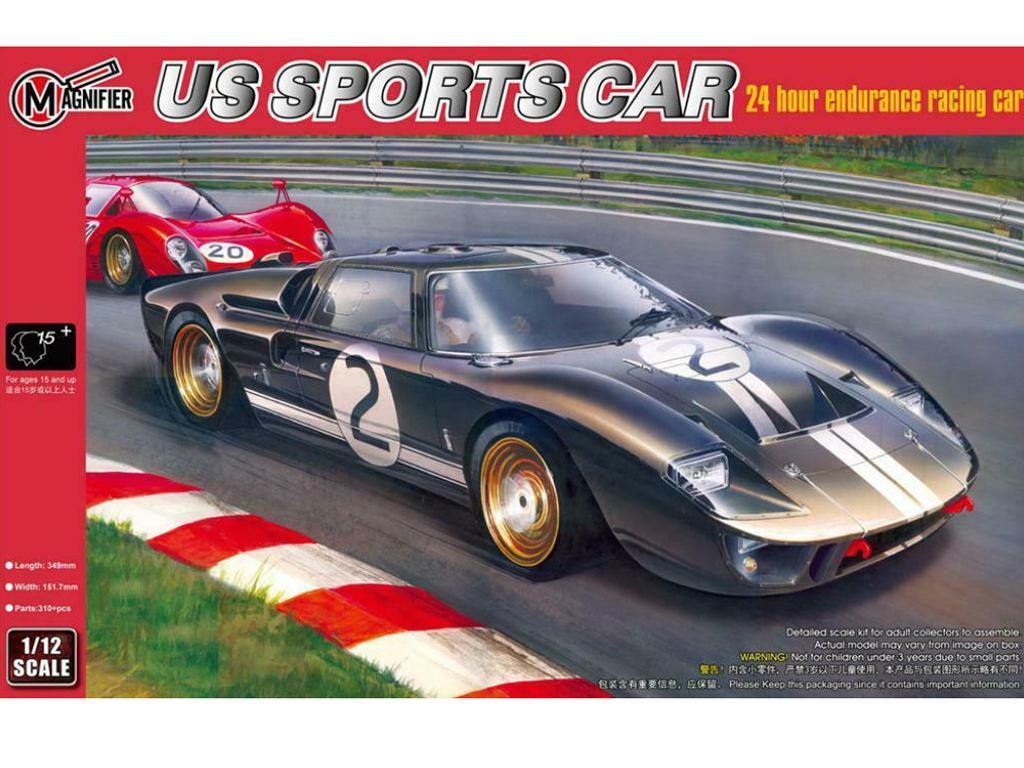 Ford GT 40 Le Mans 1966 (Vista 1)